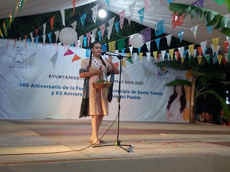 Segunda presentación de las participantes del Certámen Señorita Santo Tomás 2019