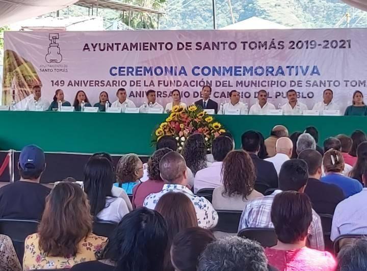 149 Aniversario de la Fundación del Municipio de Santo Tomas y 63 Aniversario del Cambio del Pueblo
