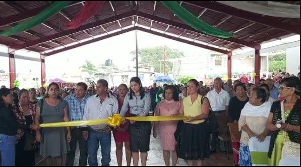 Inauguración de la Techumbre de la Plazoleta de las fincas