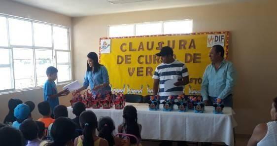 Clausura del Curso de Verano en la localidad del Rincón Chico