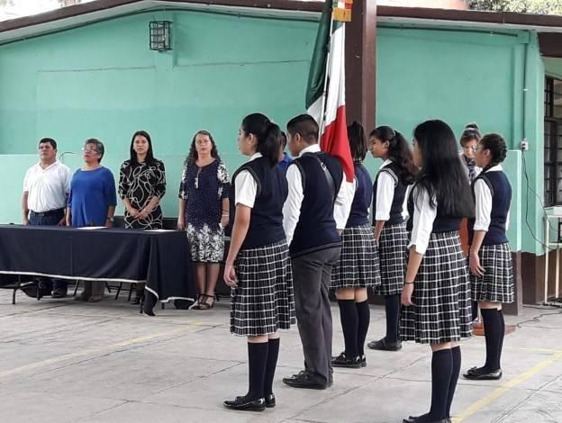 Ceremonia cívica de inicio de Ciclo Escolar 2019-2020